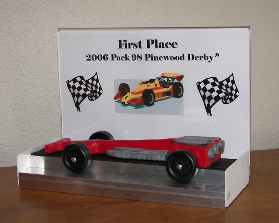 Trophy Display Stands Gorgeous Pinewood Derby Display Stand Plans